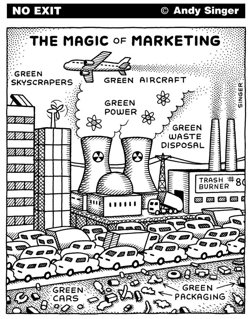 Bilan carbone, par Andy Singer