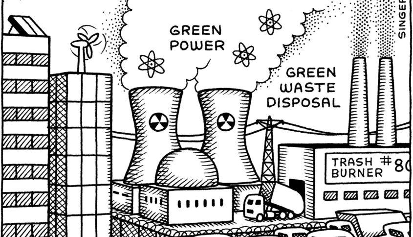 Bilan carbone, Illustration par Andy Singer