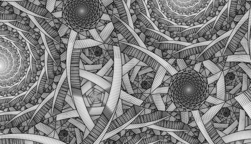 Heuresthésie Poincaré, Escher