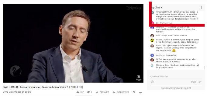 Capture Youtube Thinkerview Gaël Giraud