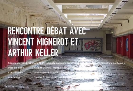 Débat avec Arthur Keller, Collapsologie politique
