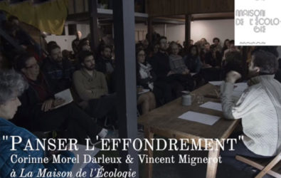 Débat avec Corinne Morel Darleux, Panser effondrement