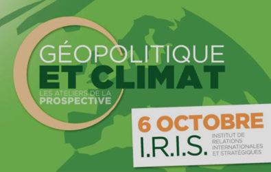 Table ronde Europe Ecologie les Verts, Géopolitique climat