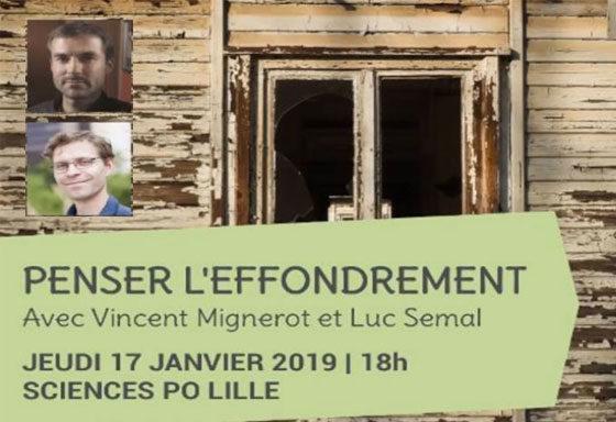 Sciences Politique, avec Luc Semal, Penser effondrement